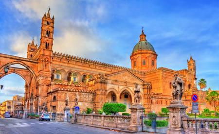 Palermo Cathedral,  in Sicily, Italy Foto de archivo