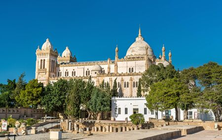 The Acropolium, also known as Saint Louis Cathedral at Byrsa - Carthage, Tunisia