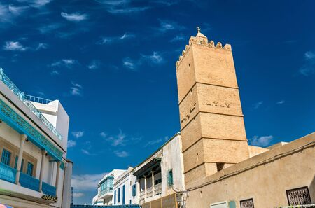 Hilali Mosque in Medina of Kairouan. A UNESCO world heritage site in Tunisia