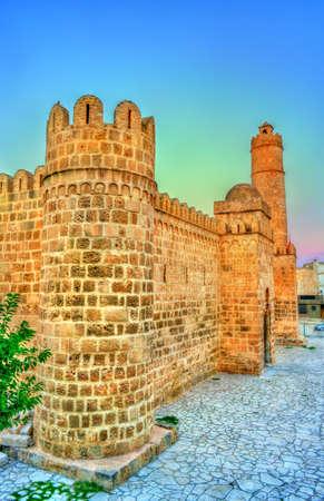 Ribat, a medieval citadel in Sousse, Tunisia. UNESCO heritage site