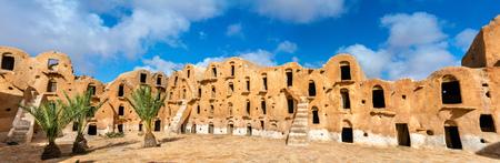 Ksar Ouled Soltane near Tataouine, Tunisia Фото со стока