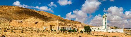 Ksar Ouled M'hemed at Ksour Jlidet village, South Tunisia Stock Photo
