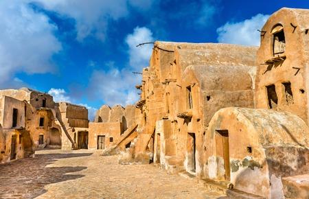 Ksar Ouled Soltane near Tataouine, Tunisia 版權商用圖片
