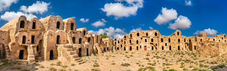 Ksar Ouled Abdelwahed at Ksour Jlidet village in South Tunisia