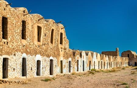 Ksar El Ferech in Tataouine Governorate, South Tunisia