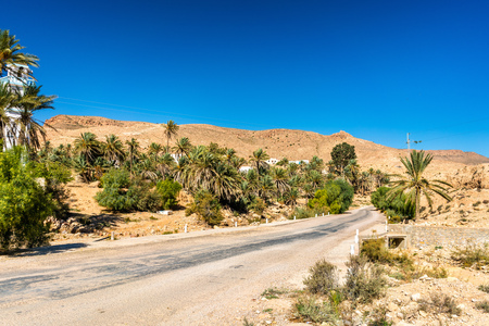 Ksar Hallouf, a village in the Medenine Governorate, Southern Tunisia. Africa Stock Photo