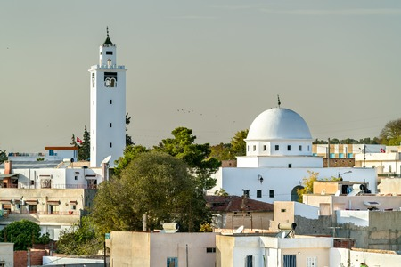 Mosque of Sidi Ali bin Saleh in Le Kef, Tunisia Stock Photo