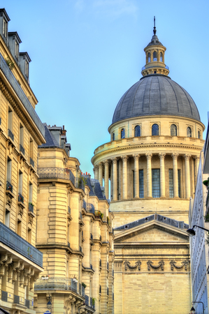 The Pantheon in Paris, a secular mausoleum containing the remains of distinguished French citizens.