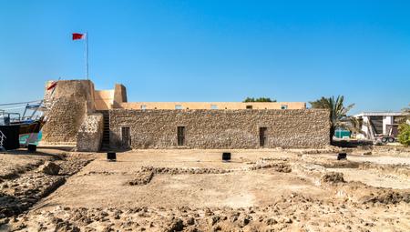 Bu Maher Fort in Muharraq, Bahrain