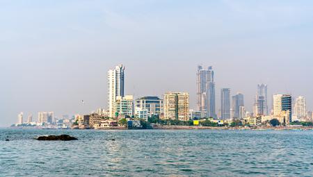 The Haji Ali Dargah, an island mausoleum and pilgrimage site in Mumbai, India