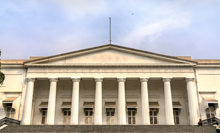 The Town Hall and the Asiatic Society of Mumbai. India