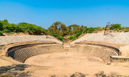Sahasralinga Talav, a medieval artificial water tank in Patan - Gujarat, India 写真素材