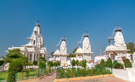 Karandiya Veer Dada, a Hindu Temple in Patan - Gujarat, India Stock Photo