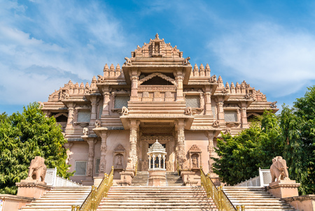 Borij Derasar, een Jain-tempel in Gandhinagar - Gujarat, India