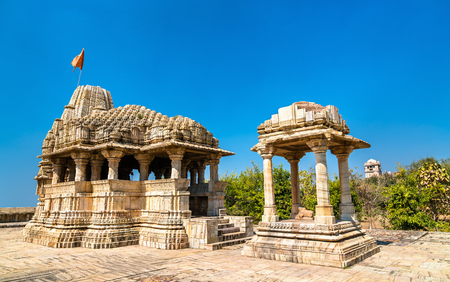 Jatashankar Mahadev Temple at Chittorgarh Fort. Rajasthan State of India