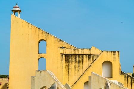 Vrihat Samrat Yantra, the worlds largest sundial at Jantar Mantar in Jaipur, India Stock Photo
