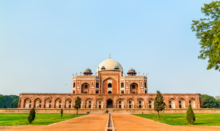 Humayuns Tomb, a UNESCO World Heritage Site in Delhi, India