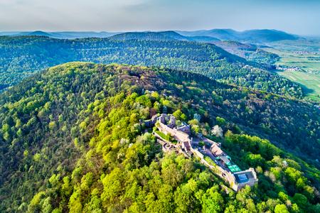 Madenburg Castle in the Palatinate Forest. Rhineland-Palatinate, Germany Stock Photo
