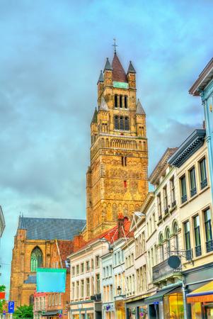 The Saint-Salvator Cathedral in Bruges, Belgium