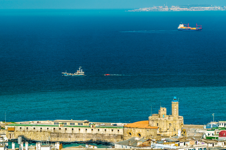 The Lighthouse of the Admiralty in Algiers, Algeria