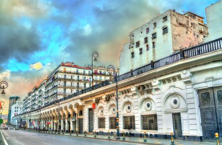 Moorish Revival architecture in Algiers, Algeria Reklamní fotografie