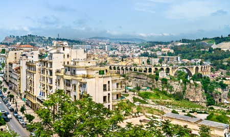 Skyline of Constantine, a major city in Algeria