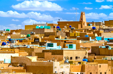 El Atteuf, an old town in the MZab Valley in Algeria