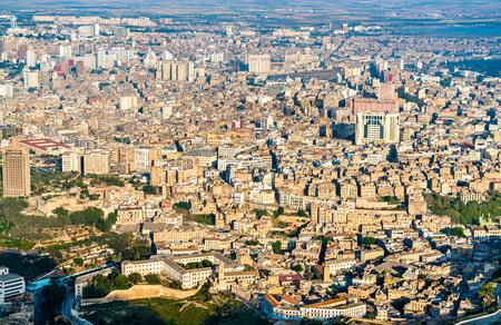 Skyline of Oran, a major Algerian city Stok Fotoğraf - 105737997