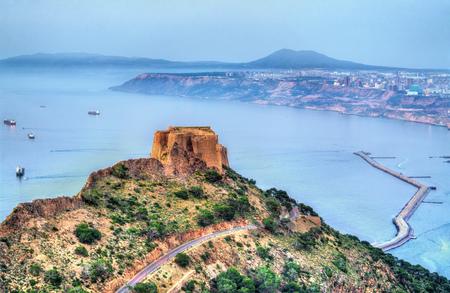 Fort Santa Cruz in Oran, Algeria Stok Fotoğraf - 106071102