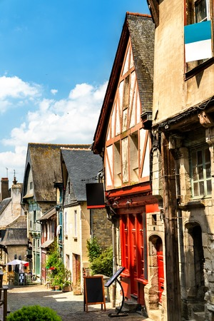 Traditional houses in Vitre, France