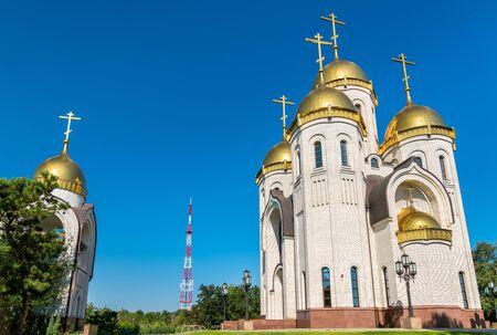 All Saints Church on Mamayev Kurgan in Volgograd, Russia