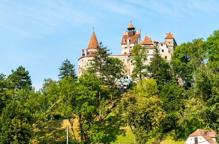 Bran Castle, famous for the Dracula legend. Romania Stok Fotoğraf