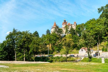 Bran Castle, famous for the Dracula legend. Romania Stock Photo