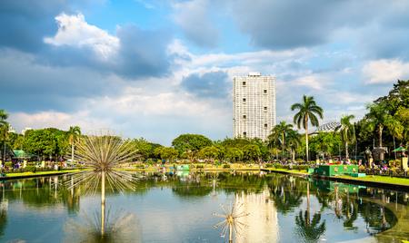 Fountain in Rizal Park - Manila, Philippines
