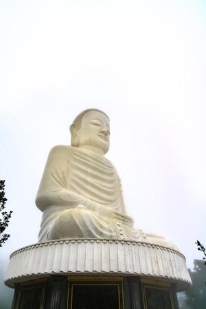 Colossal sitting Buddha statue at Ba Na Hills, Vietnam