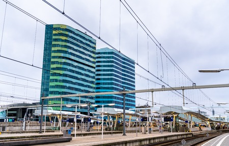 Arnhem Centraal station in Netherlands
