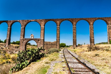 Aqueduct of Padre Tembleque in Mexico