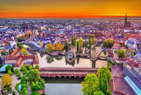 Barrage Vauban, Ponts Couverts and Petite France in Strasbourg
