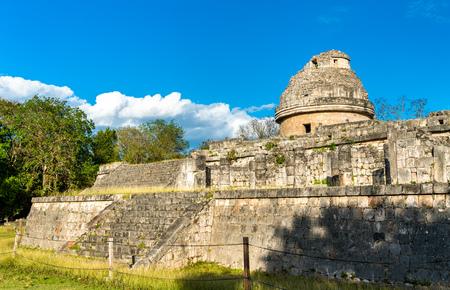Mayan Observatory El Caracol at Chichen Itza.