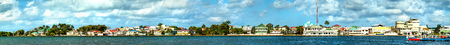 Panorama of Belize City
