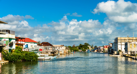 Haulover Creek in Belize City