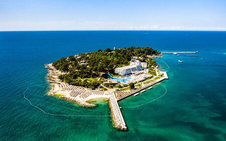 Sveti Nikola island near Porec, Croatia