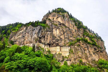 Monastero di Sumela nella provincia di Trabzon in Turchia