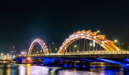The Dragon Bridge in Da Nang, Vietnam