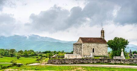 Stedim Church near Niksic in Montenegro