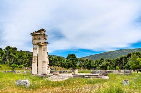 Sanctuary of Asklepios at Epidaurus in Greece