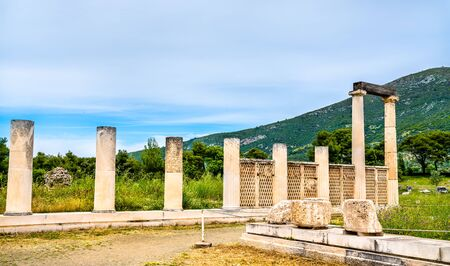 Sanctuary of Asklepios at Epidaurus in Greece