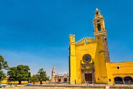 San Gabriel Franciscan Convent in Cholula, Mexico