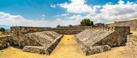Ballcourt at Yagul, a Zapotec archaeological site near Oaxaca in Mexico
