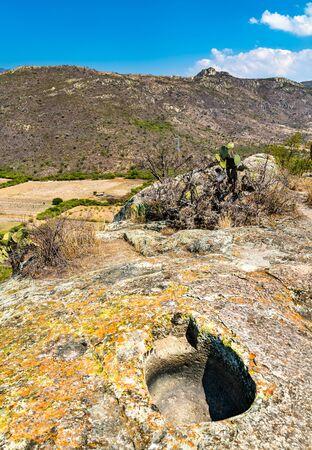 Yagul, a Zapotec archaeological site near Oaxaca in Mexico